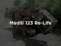 T-Mar Industries takes on the challenge of rebuilding a fire damaged Madill 123 Yarder.