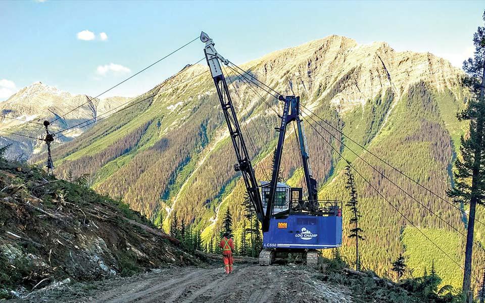Logging Yarder Design Manufacturing And Repair T Mar